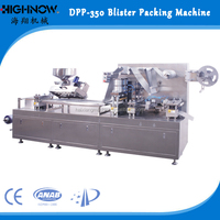 Automatic Good Price High Frequency Chocolate Toothbrush Syringe Butter Blister Card Sealing Packaging Machine