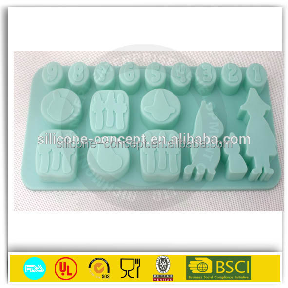 Best Kitchen 2015 Durable Custom Design anime chocolate mold