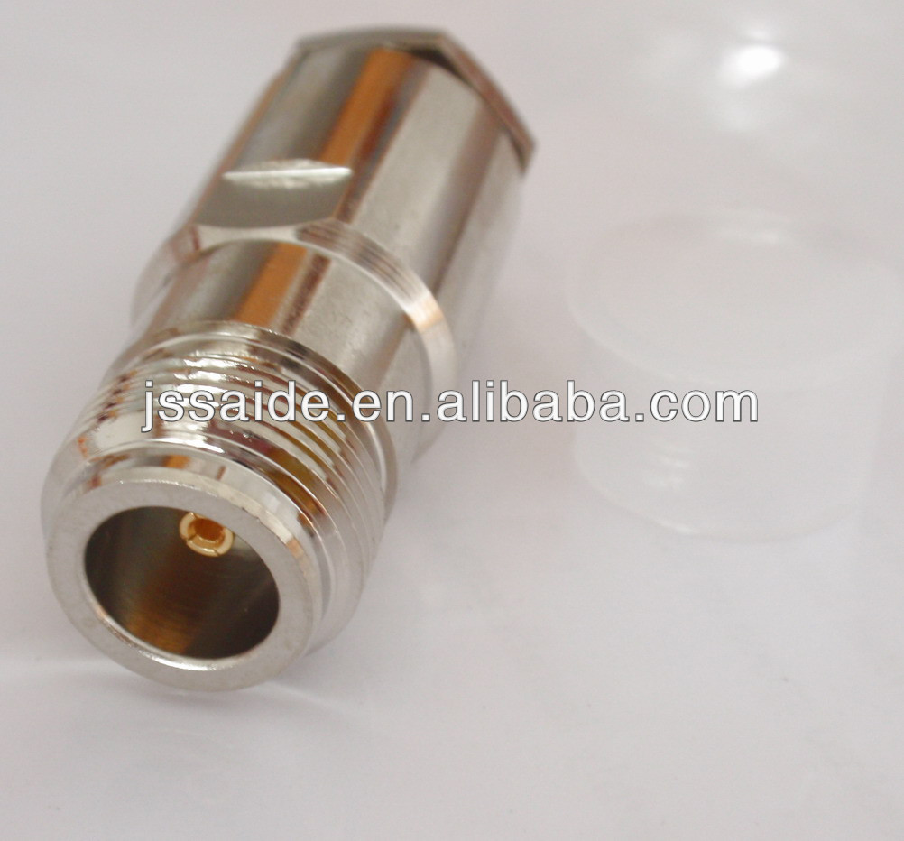 N female clamp connector for LMR400 cable