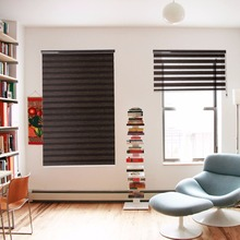 European style good quality double sheer roller window blinds/zebra blind