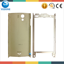 Factory Price Housing Cover For Sony Xperia Ray ST18 Rear Cover+Mid Frame, For Sony Ray ST18 Back Cover Housing Replacement