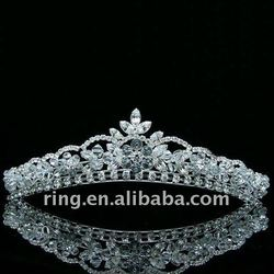 Fashiom Wedding Prom Crystal Crown Comb Tiara New