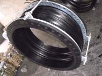 silicone rubber coated fiberglass fabric expansion joint