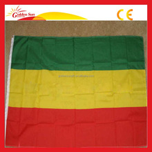 Custom 100% Polyester Heat Sublimation Printing Ethiopian Flag