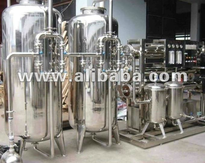 Standard Water Treatment Plant / Machine 10000 LPH