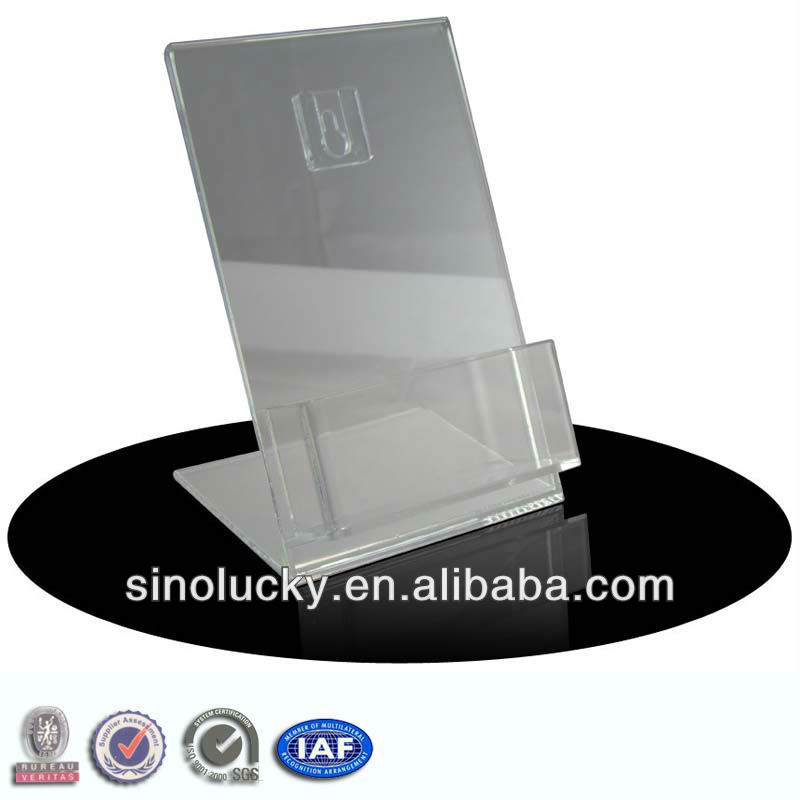 100 acrylic desktop business card holder display stand