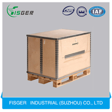 Wholesale Unfinished Foldable Cheap Wood Crates with Different Sizes