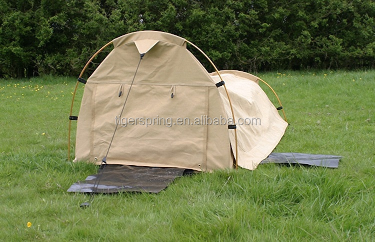 Outdoor camping swag tent