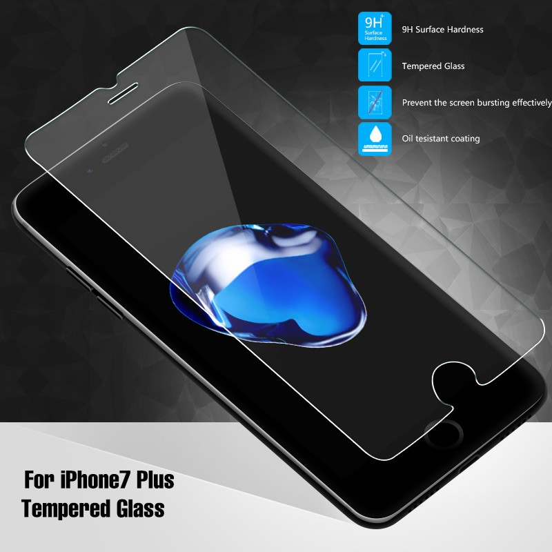 Phone Accessories Mobile 2.5D full Cover Tempered Glass Screen Protector For Apple iphone 6s, Protector Film for Apple iphone 7#