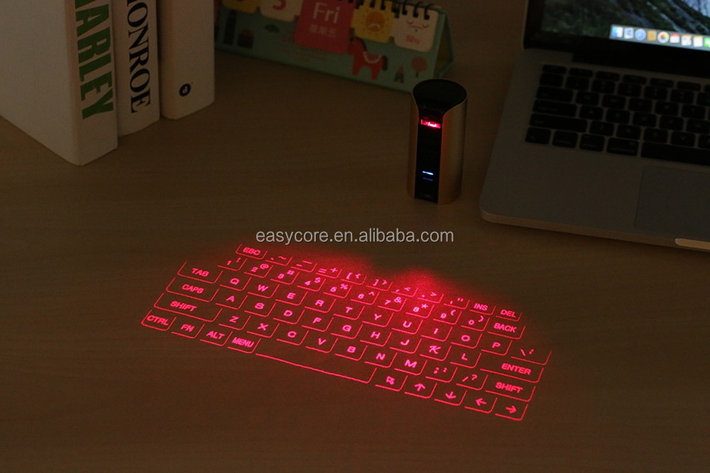Bluetooth hands-free call virtual laser projection keyboard with new bluetooth speaker
