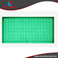 High brightness p10 outdoor single green led display module with 320x160