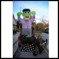 Ward halloween party decoration inflatable cute man