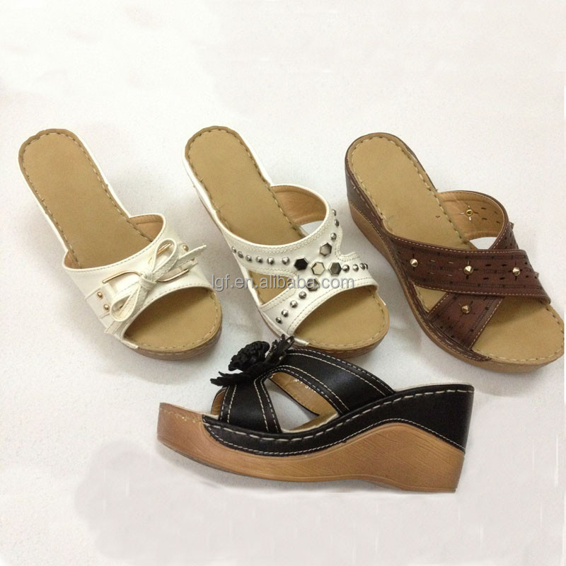 Popular Women Sandals 2016 Summer Shoes Woman Genuine Leather Flat Sandals