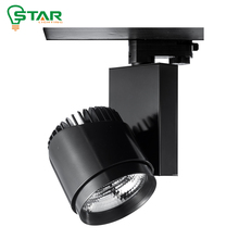 die case heat sink 90lm watt efficiency 40w COB LED spot track light