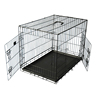 "24"" 30"" 36"" 42"" 48"" plastic tray folding metal wire pet cage"
