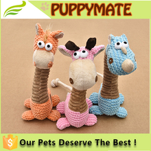 High Quality Stuffed Cute Plush Pet Toy/ Squeaky Plush Animal Dog Toys/ Sound Dog Toy