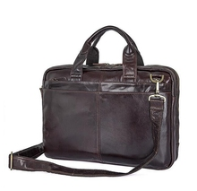 Dreamtop DTC114 wholesale factory price leather business briefcase private label brand handbag for men