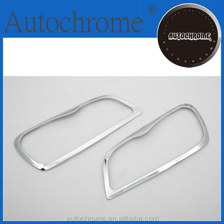 ABS plastic abs car accessories chrome head light cover - for Toyota Rav4 96-00