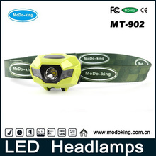 LED Mining Headlamp/Super Waterproof Multi Light Modes USB Charger