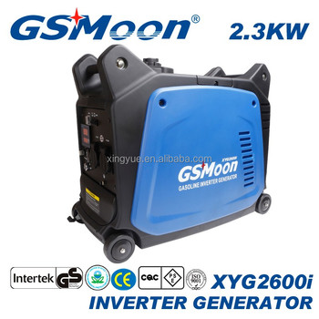 2500w gasoline silent digital pure wave inverter generator
