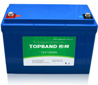 High quality 12V lithium ion battery 100Ah for camper/cavaran