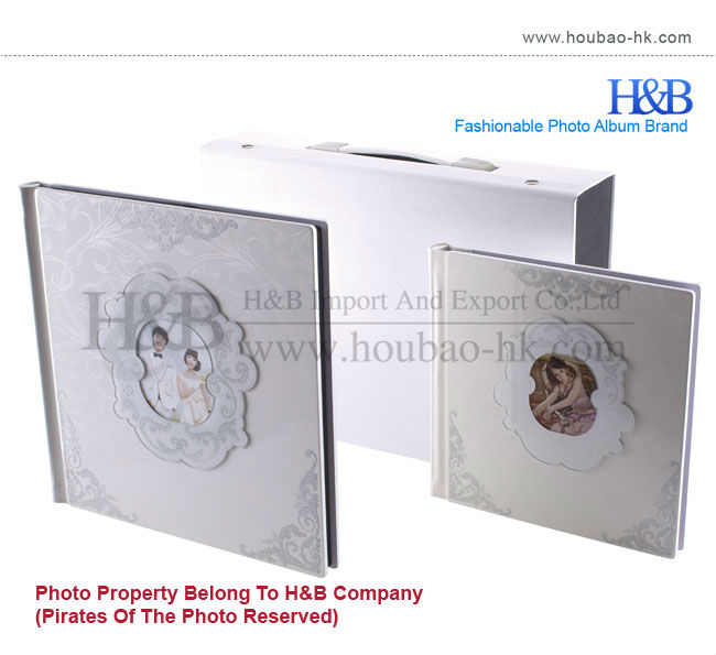 Wholesale Painting Cover 6x8 Photo Album/ Hard Pages Photo Album/ 600 Page Photo Album
