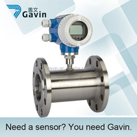 Liquid Water Flow Meter Gauge