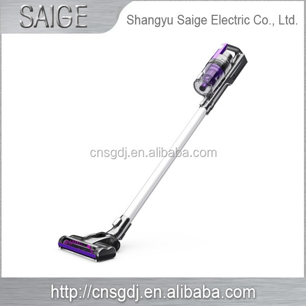 Household wireless automatic and double cyclone vacuum cleaner