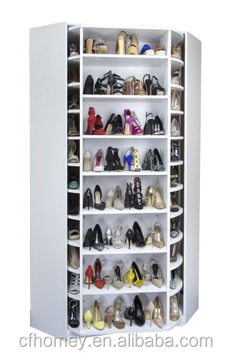 Shoe closet design Rotating Shoe cabinet in Shoe racks