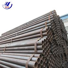 ASTM A53 erw welded round welding Mild black carbon steel pipe manufacturer for building