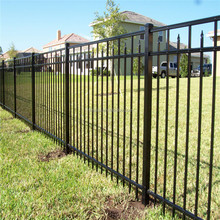 Security metal fence / Aluminum backyard fence / decorative aluminum sheet metal panels
