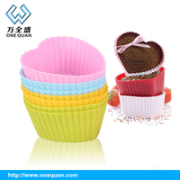 2015 China Hot Sale single Silicone Cake Mould Bakeware