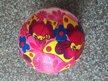 inflatable pvc small toy ball printed pvc ball play ball