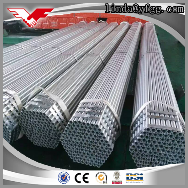 Wholesale ASTM A53 Grade B hot dipped galvanized round steel pipes specifications