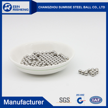 2017 most popular 6.35mm Loose Stainless Steel Ball With Bottom Price