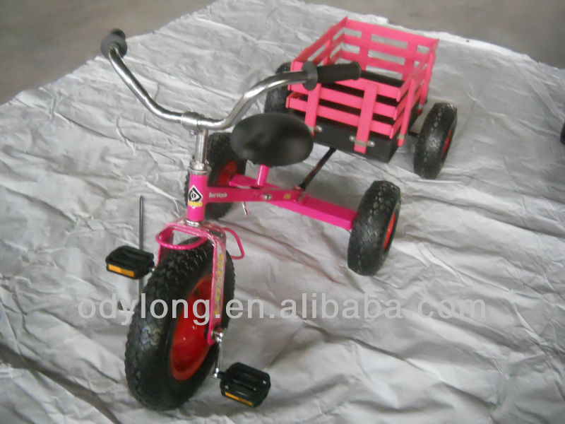 2014 New children bike Children toy tricycle toy with trailer,best toy for kid's (F80AB)