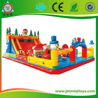 2014 Large christmas inflatable bouncy castle for sale