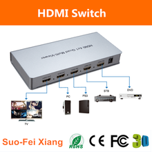 4x1 HDMI Matrix Switch Quad video Multiviewer With Seamless Switcher for Video Wall projector