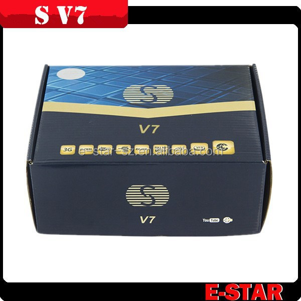Newest Digital Satellite Receiver Libertview F5s /S V7 IKS Sharing with VFD Display