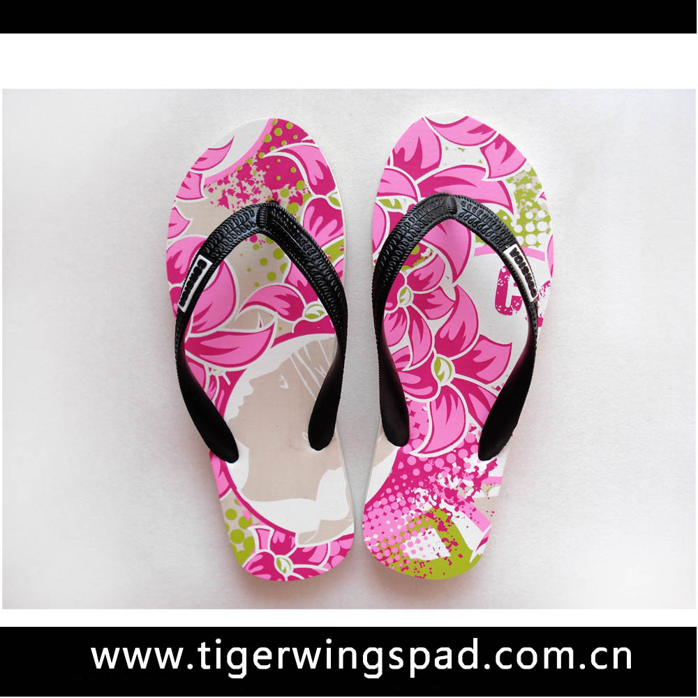 2016 Colorful ladies sexy wedge flip flops