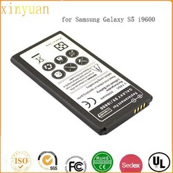 Wholesale standard lithium battery 3500mAh cellphone Battery For Samsung Galaxy S5 i9600