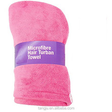 Microfiber quick- dry hair beauty towel with towel hair band