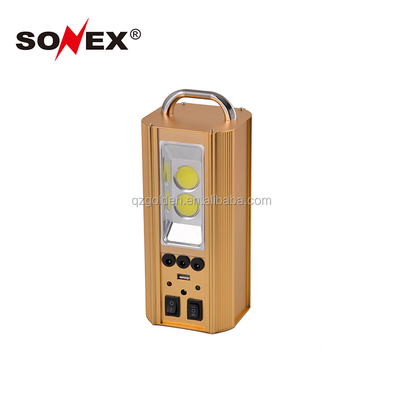 2018 multifunctional home 5W cob led rechargeable solar emergency light