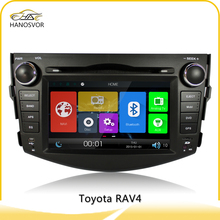 For toyota rav4 factory gps navigation system 7'' gps maps for windows ce 6.0