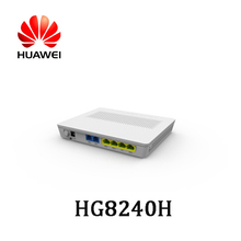 Huawei HG8240H 4GE+2VOICE English Firmware Port FTTH Fiber Optic GPON EPON ONU Modem in Stock