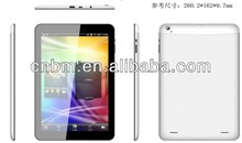 10.1 inch 3G MTK8389 Quad core tablet pc 1280 X 800 pixels IPS DDR 1G +Flash 8G
