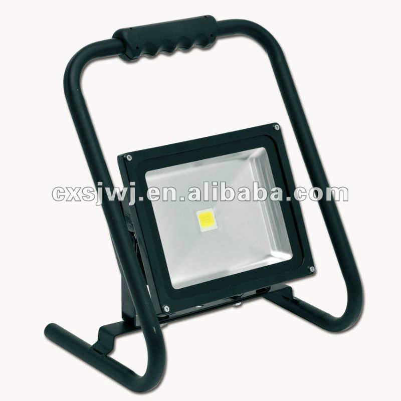 movable 30W led lighting with H type bracket led work ligh