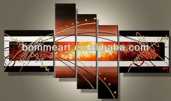 hand-painted wall arth ome decoration landscape oil painting on canvasQ20121205