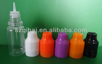 10ml/15ml/20ml/30ml PET dropper bottles for e-liquid bottles juice bottles with childproof and tamper evident cap JB-242