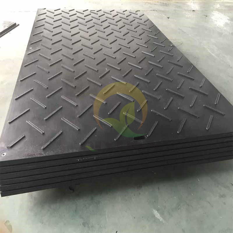 Oilfield ground protection mats or uhmwpe pads or crane track mats